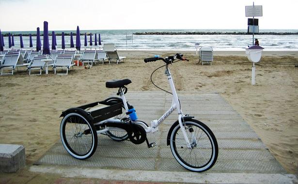 alessio giardini bici per disabili