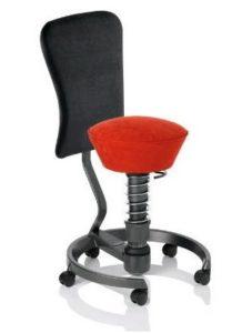 sedia Swopper mal di schiena con schienale