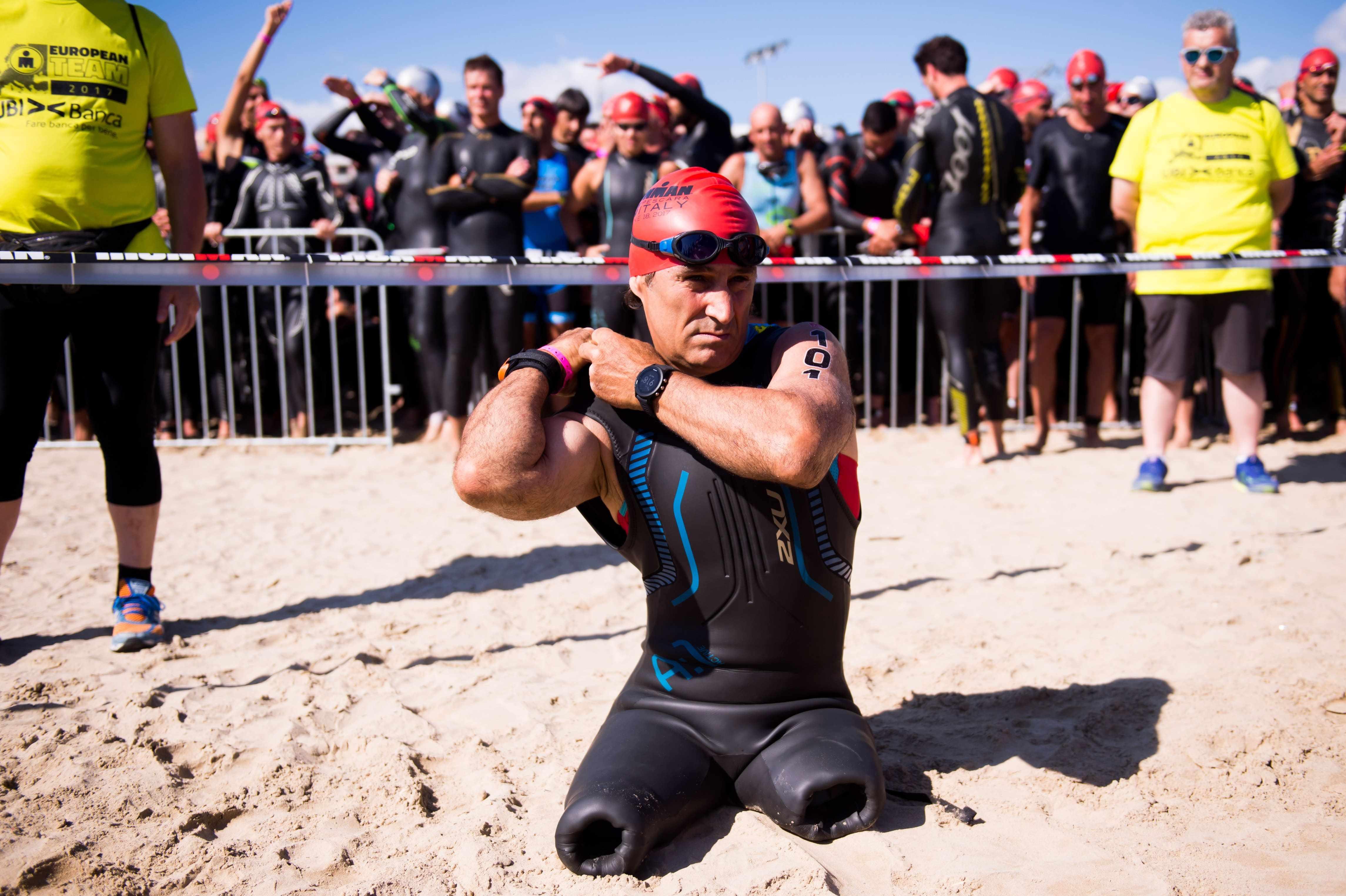Alex Zanardi realizza il record del mondo nell'IronMan