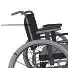 Schienale regolabile carrozzina per disabili