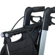 Deambulatore Rollator Vital Carbonio 5,8 kg pieghevole 4