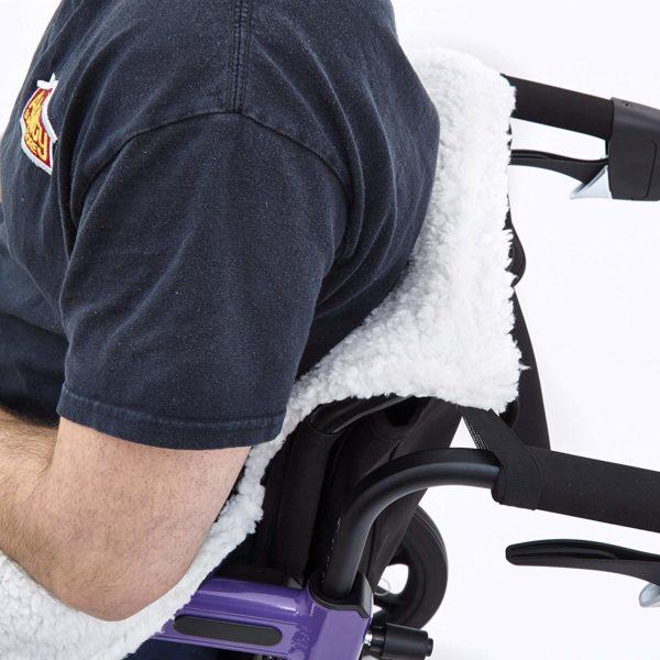 Sacco a pelo e pile per disabili