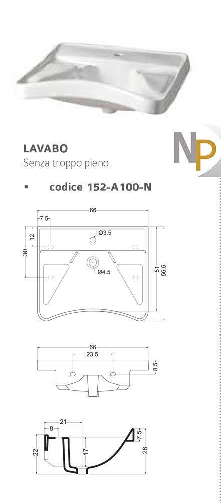 Sanitari Lavandino Lavabo Wc Bagno Per Disabili