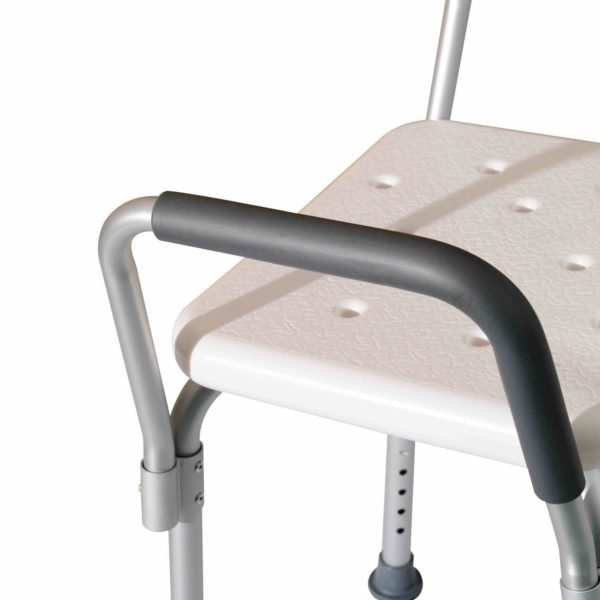 Sedile da doccia con schienale e braccioli 1