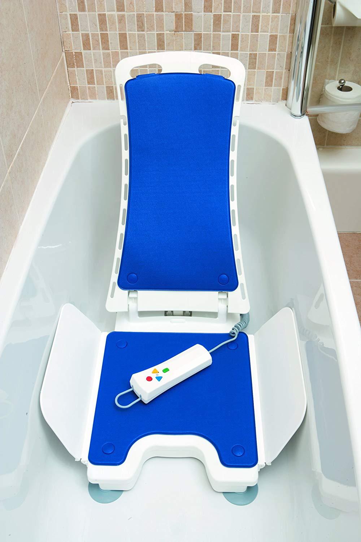Bellavita Sollevatore per vasca da bagno blu