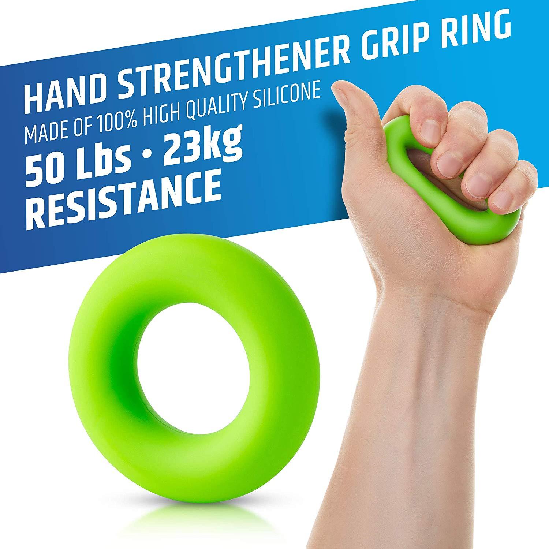Kit di allenamento Hand Grip per Rinforzare gli Avambracci 04