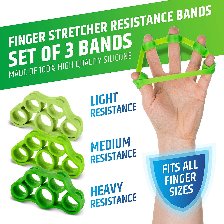Kit di allenamento Hand Grip per Rinforzare gli Avambracci 05