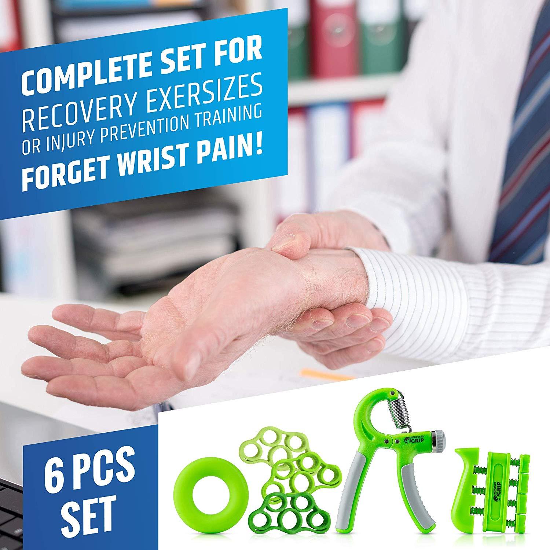 Kit di allenamento Hand Grip per Rinforzare gli Avambracci 06