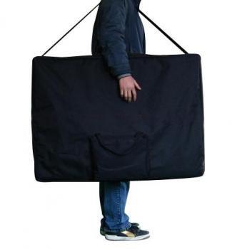 Lettino da massaggio 2 zone legno portatile 12,8 kg richiudibile 06