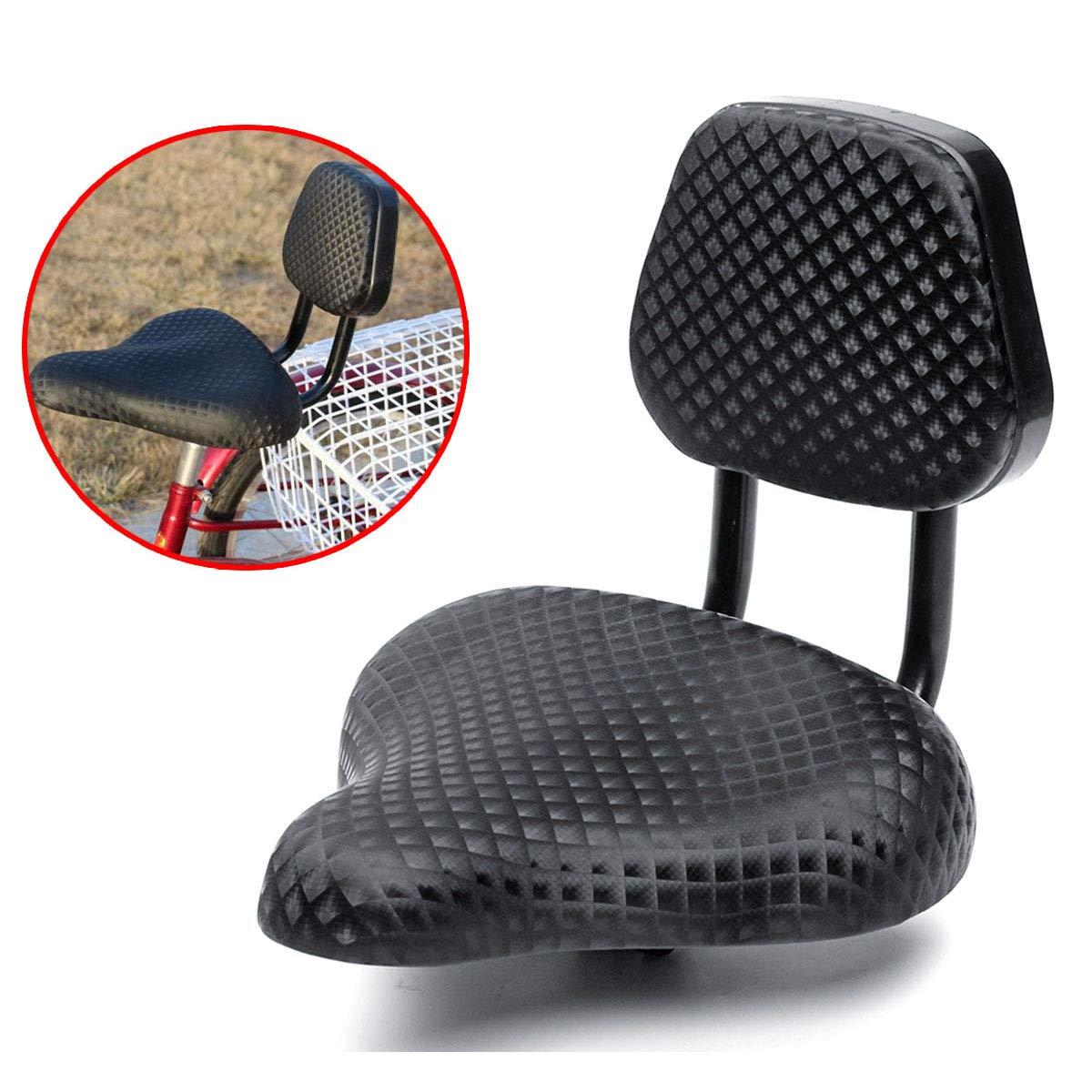 Sella Sedile con schienale per Biciclette e Tricicli 0