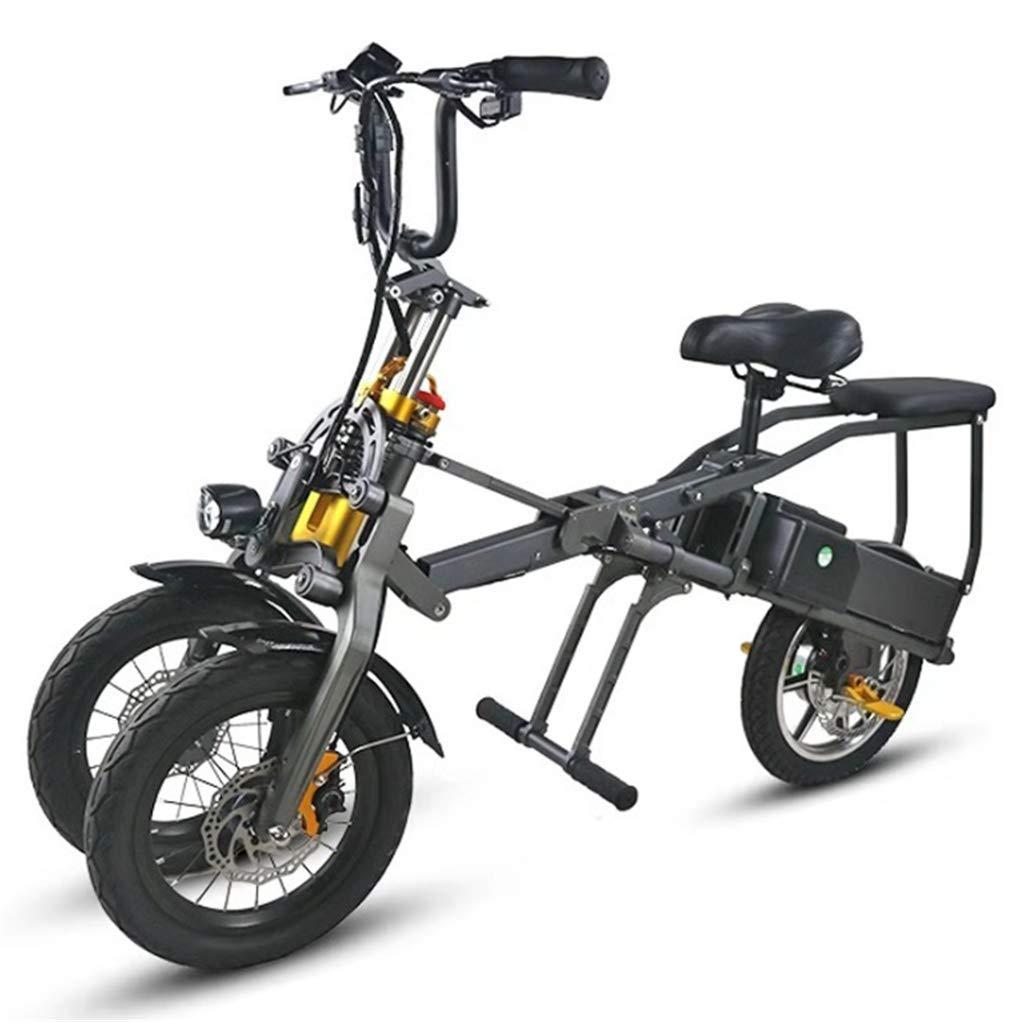 Triciclo Pieghevole Portatile Elettrico per il Traffico Urbano