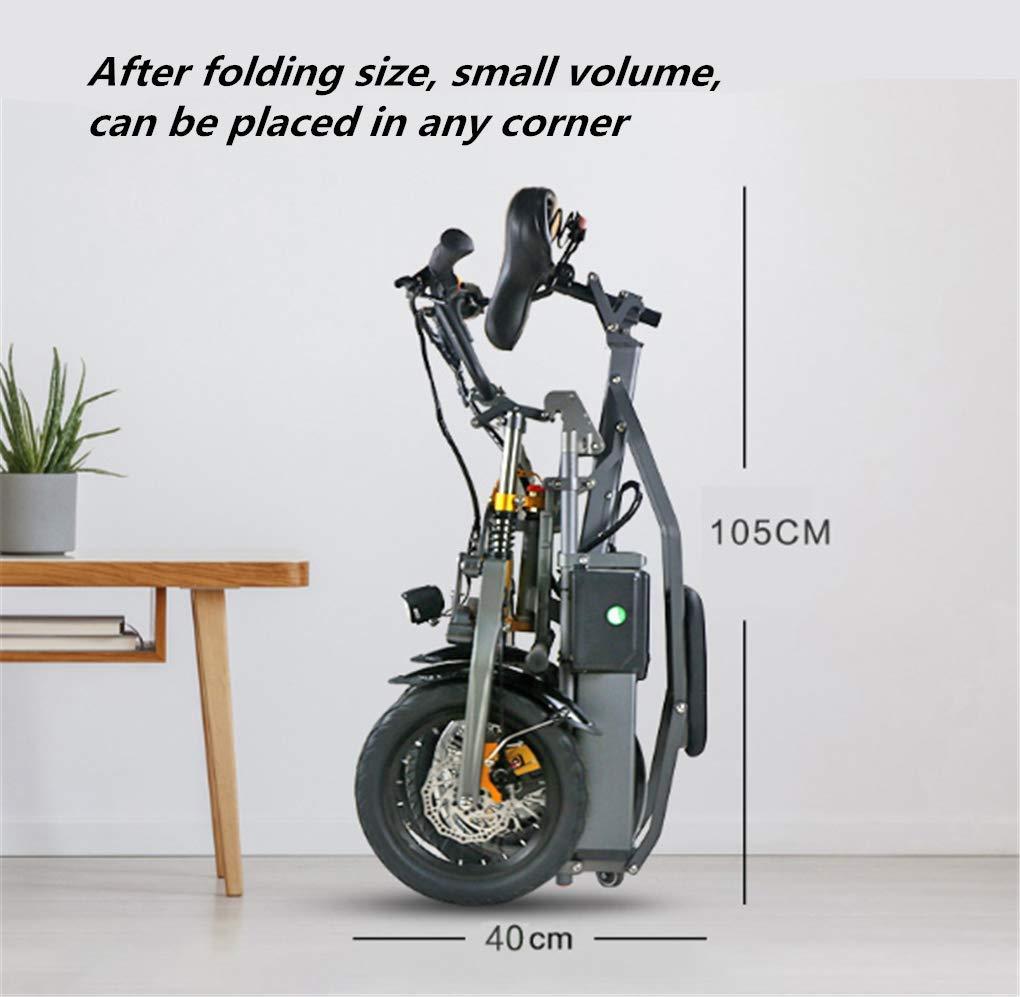 Triciclo Pieghevole Portatile Elettrico per il Traffico Urbano 02