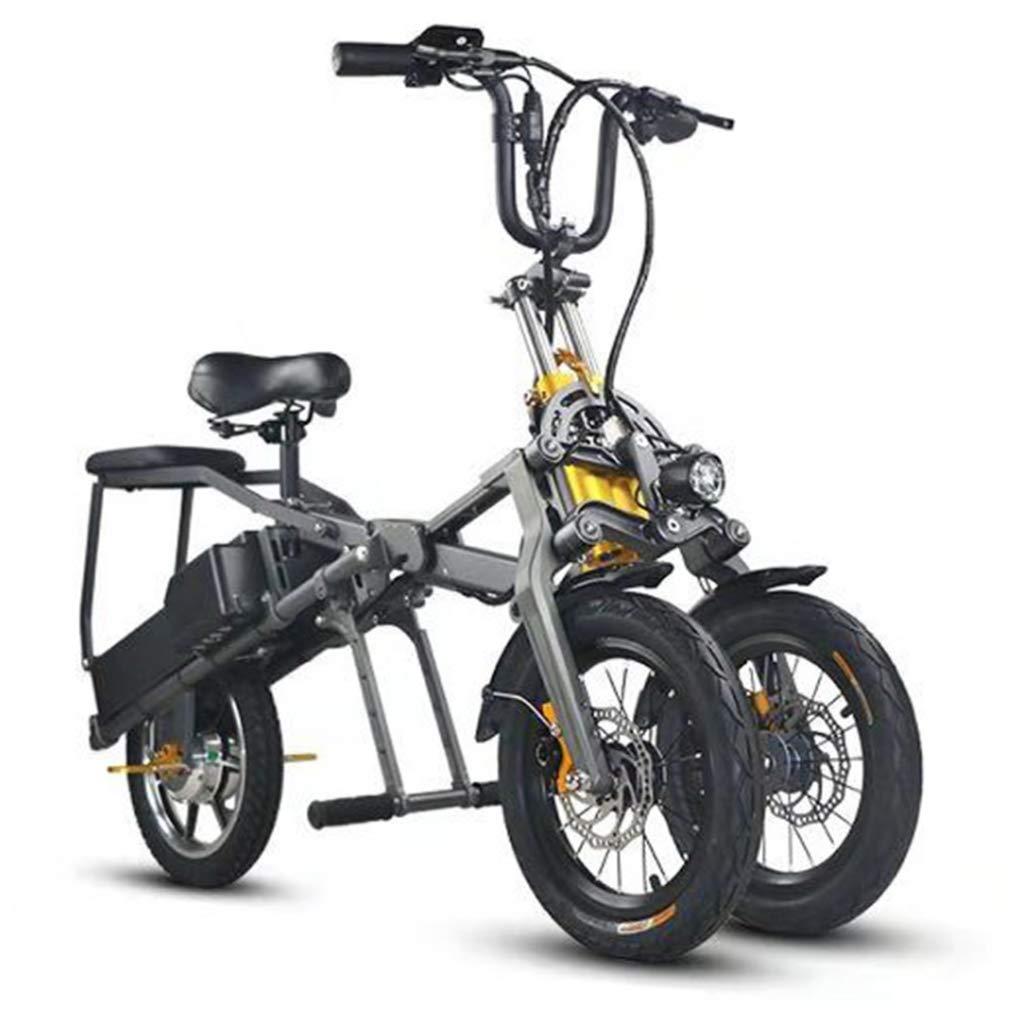 Triciclo Pieghevole Portatile Elettrico per il Traffico Urbano 04