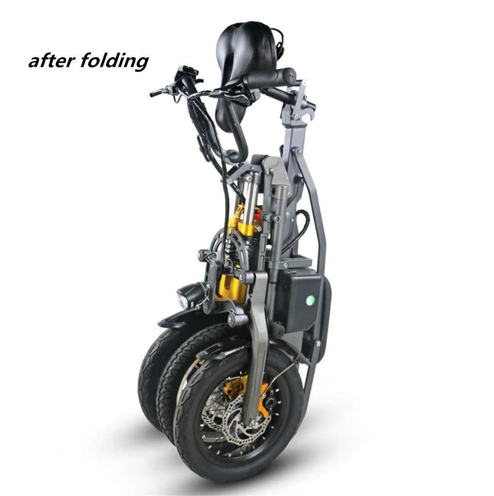 Triciclo Pieghevole Portatile Elettrico per il Traffico Urbano 05
