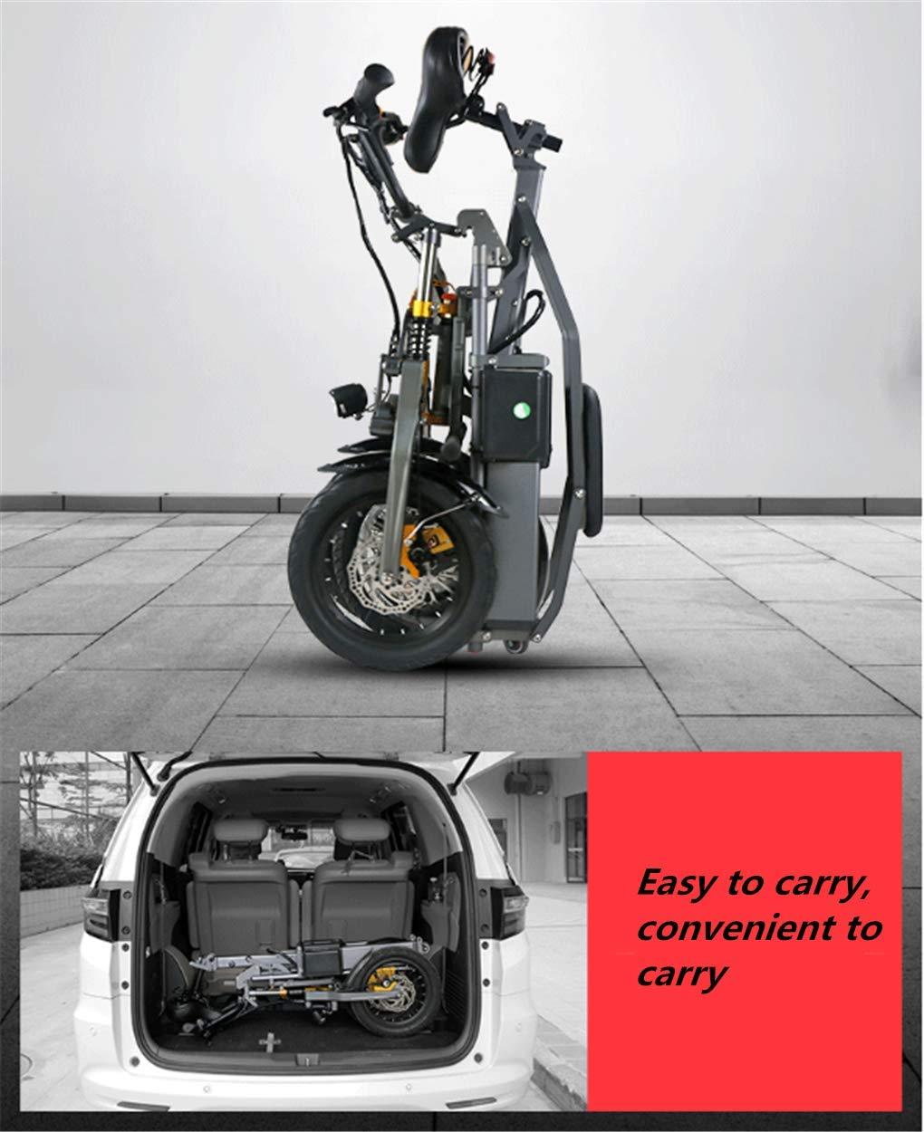 Triciclo Pieghevole Portatile Elettrico per il Traffico Urbano 06