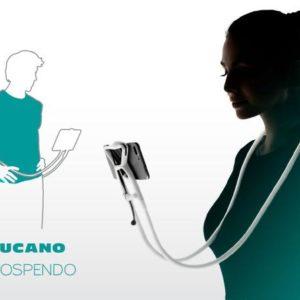 Tucano SOSPENDO supporto a mani libere utilizzabile con tablet e smartphone