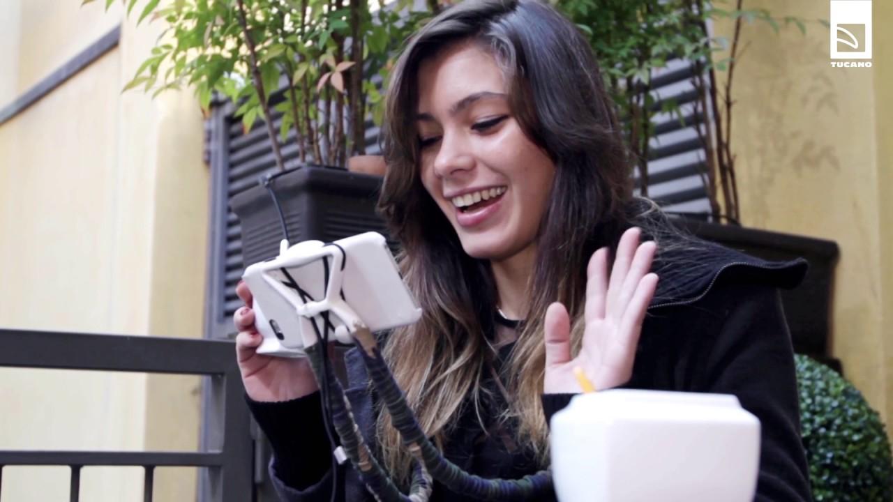 Tucano SOSPENDO supporto a mani libere utilizzabile con tablet e smartphone 08
