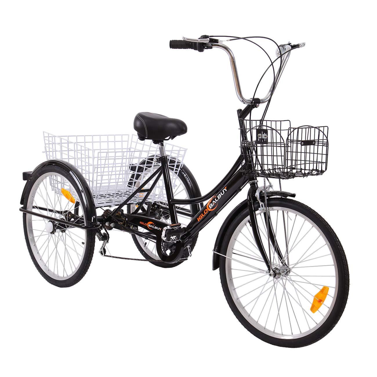 Yonntech Triciclo per Adulti 02