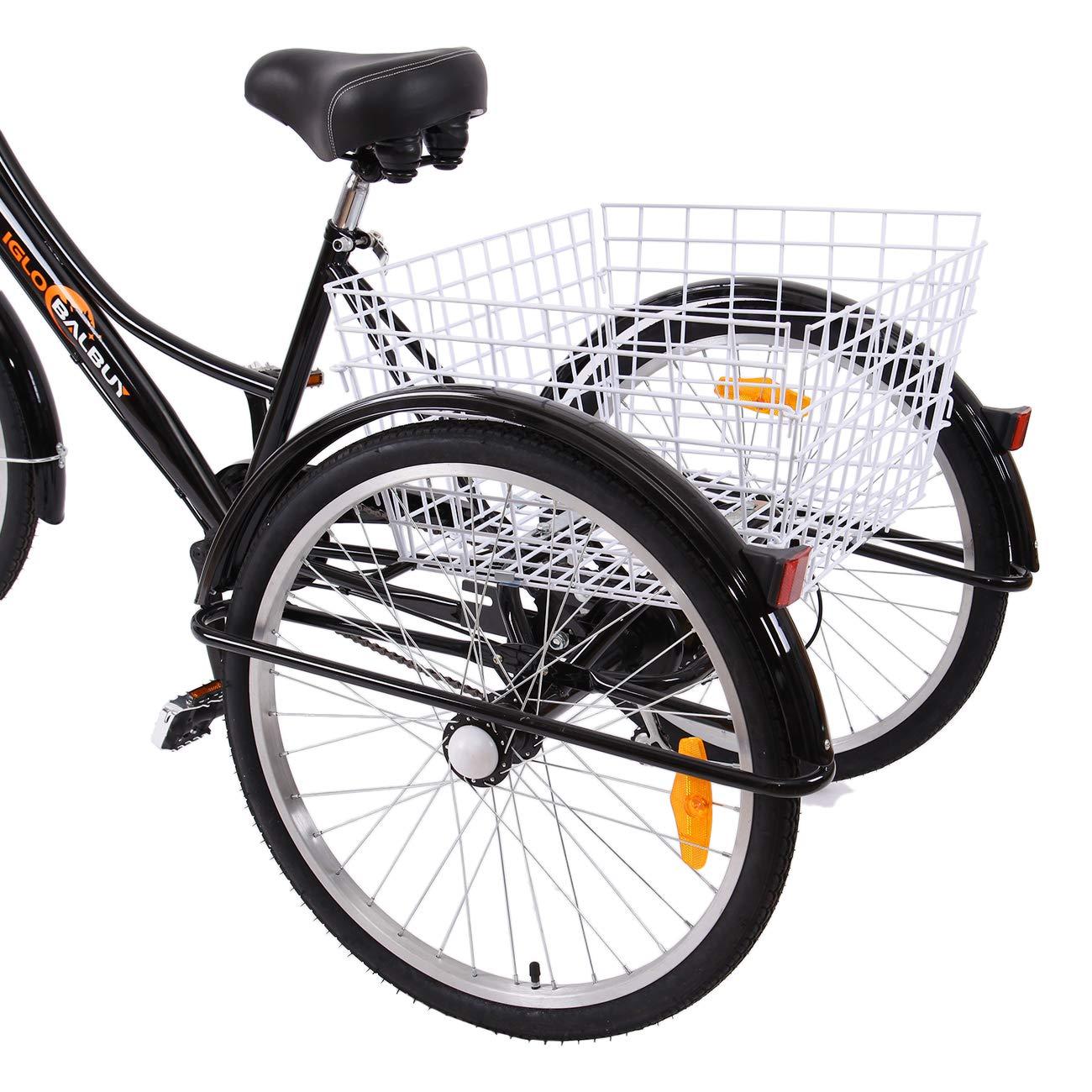 Yonntech Triciclo per Adulti 04