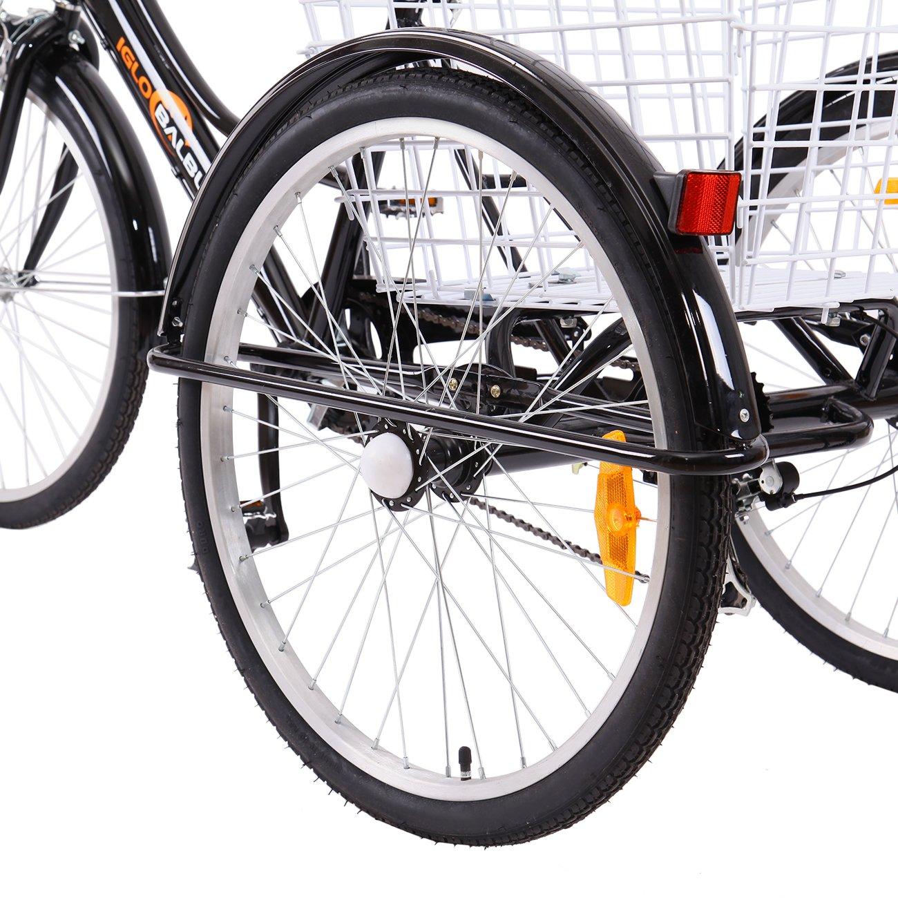 Yonntech Triciclo per Adulti 07