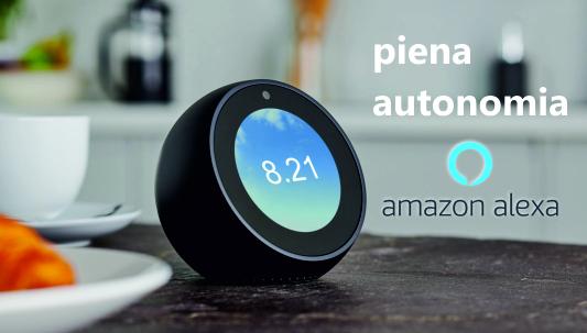 Amazon Alexa dà piena autonomia alle persone con disabilità