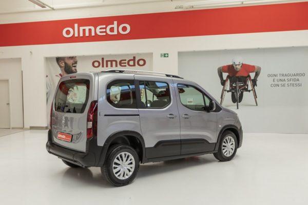 Peugeot Rifter passo corto per trasporto disabili 02