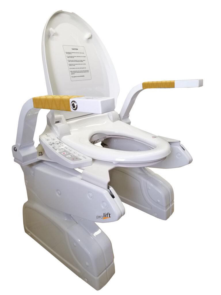 Duetto Sollevatore WC per disabili e anziani