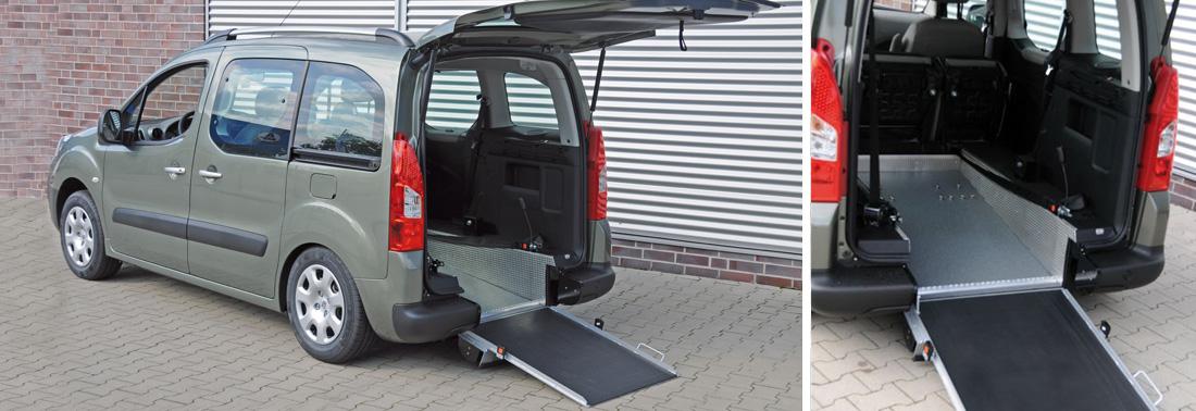 Auto usate per disabili con comandi al volante
