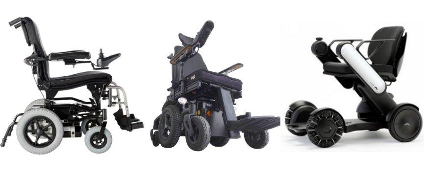 Carrozzine per disabili elettriche usate