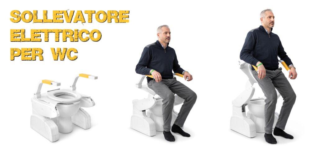 Sollevatore elettrico per wc