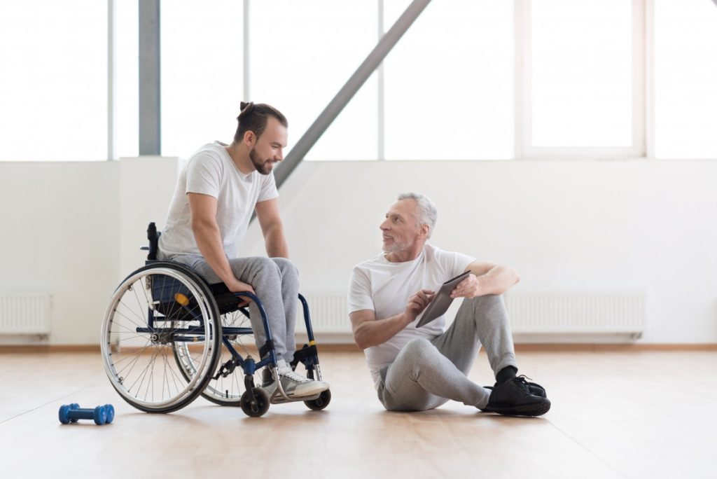 Sport per disabili riabilitazione