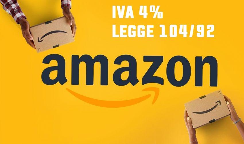 Legge 104 Amazon IVA ridotta