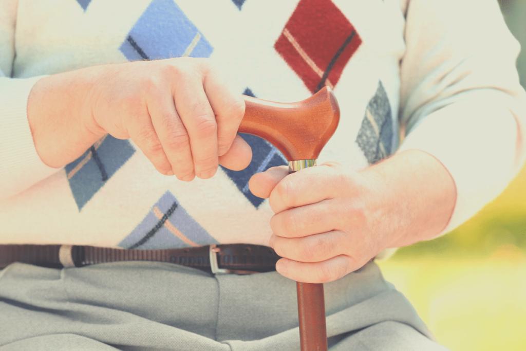 Bastoni per anziani e disabili
