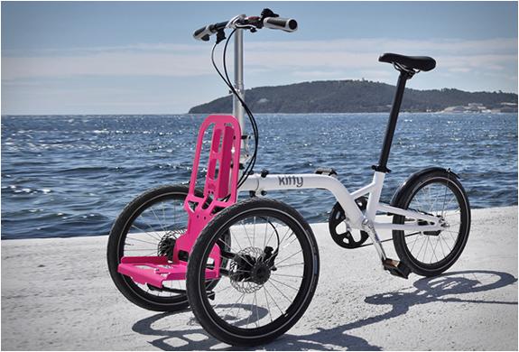 Bicicletta per disabili Kiffy