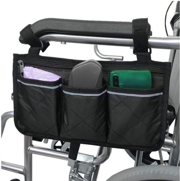 Borsa per carrozzina per disabili libera mani