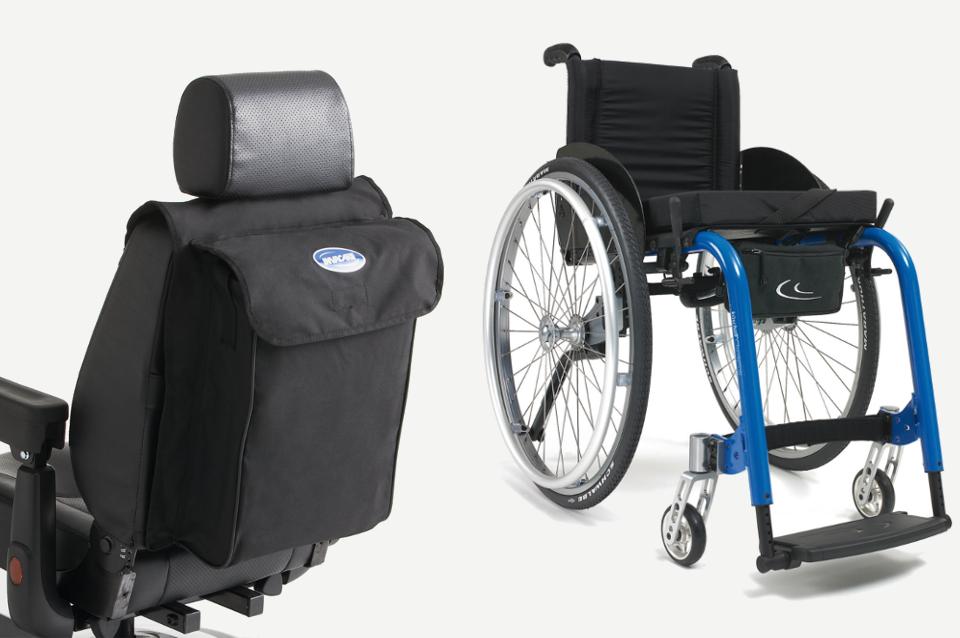 Borse per carrozzine per disabili