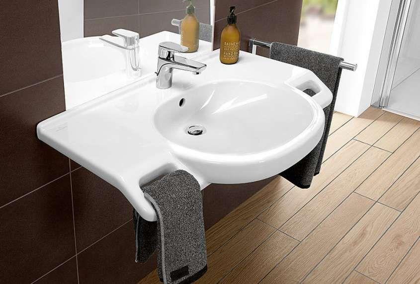 Lavandini e lavabi bagno per disabili in carrozzina