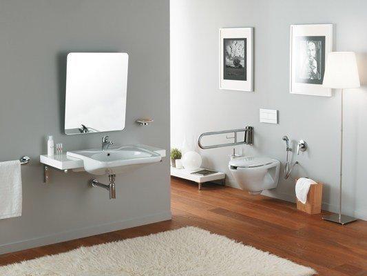 Specchi bagno per disabili in carrozzina
