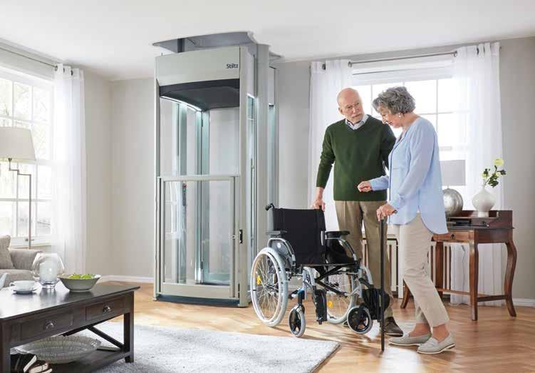 Ascensori per disabili e anziani