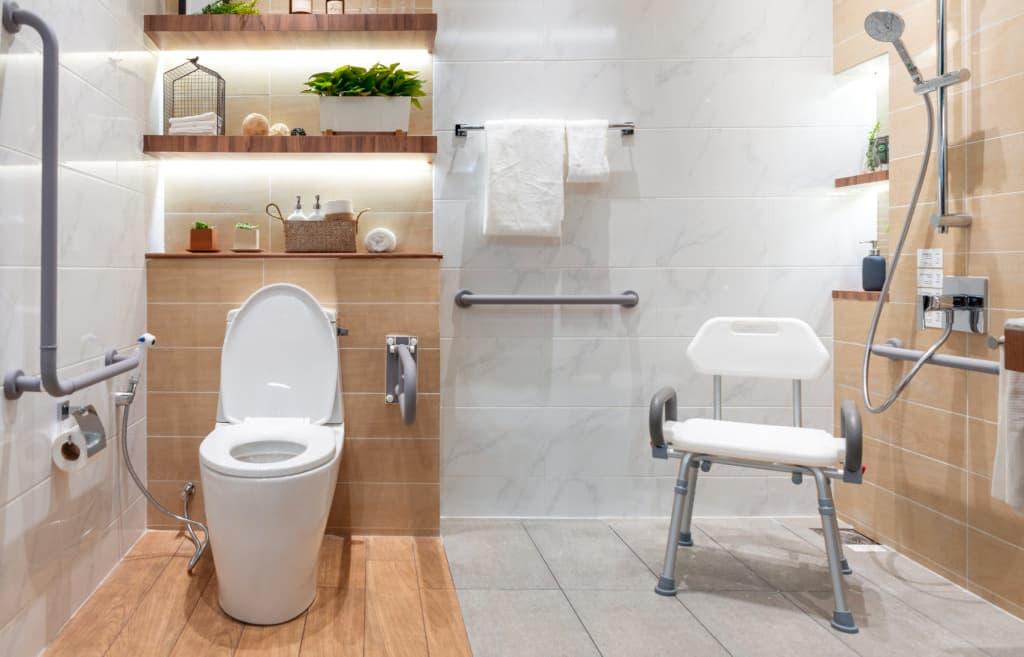 Maniglioni bagno per disabili
