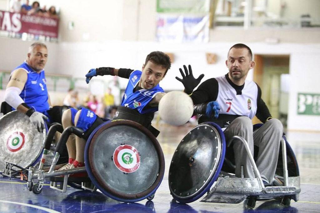 carrozzine per lo sport disabili